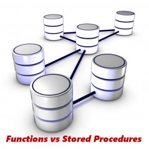 function vs stored procedure