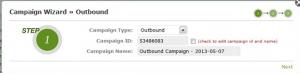 add new campaign2- goautodial