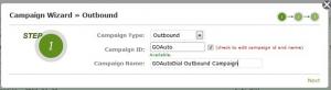 add new campaign3- goautodial