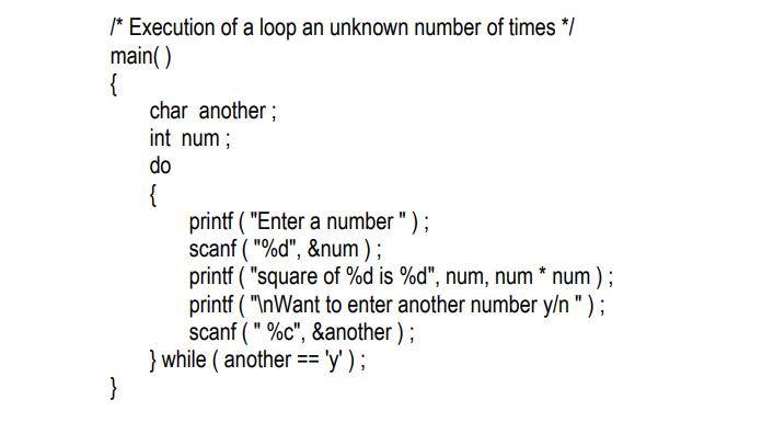 the odd loop in