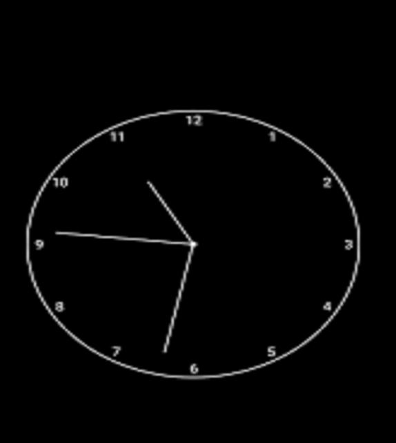 clock program in c