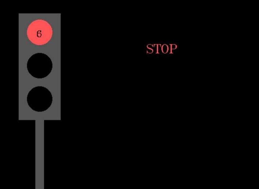 traffic light program in c