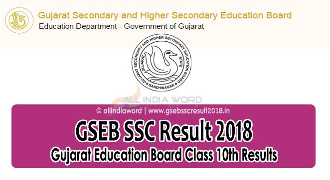 GSEB-SSC-Result-2018-Gujarat-Education-Board-10th-Results