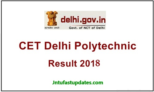 CET-Delhi-Result-2018