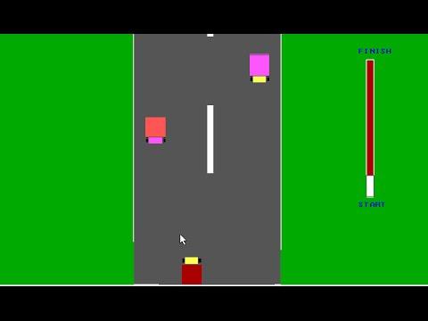 car race game in c