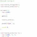 c program reverse-words-in-string