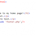 php include page example