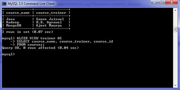 MySQL Function