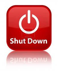 shutdown program in c