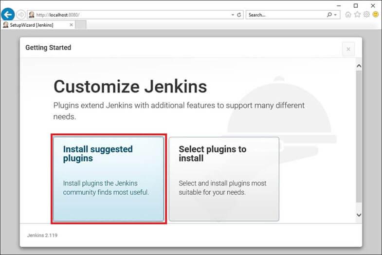 jenkins customization step 1